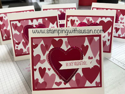 Stampin' Up!, www.stampingwithsusan.com, Meant to Be Bundle, Valentines