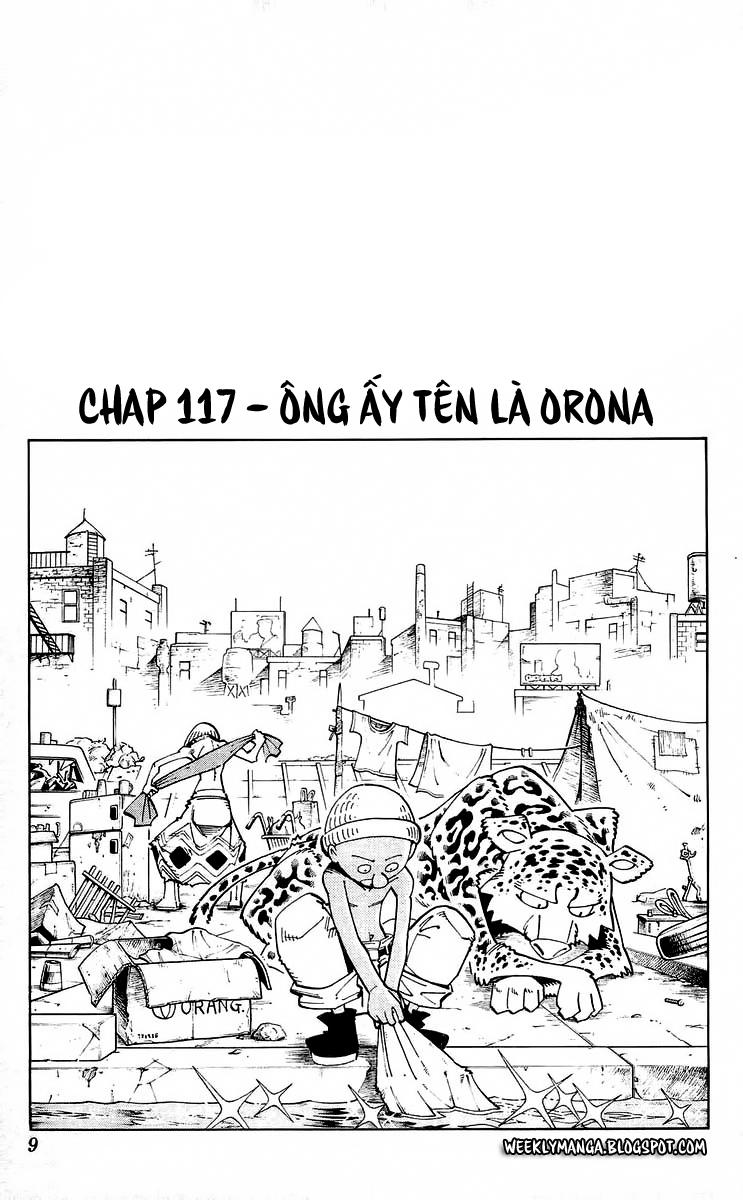 Shaman King [Vua pháp thuật] chap 117 trang 8