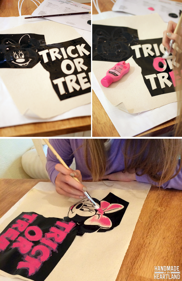 Minnie Mouse Costume & DIY Trick or Treat Bag