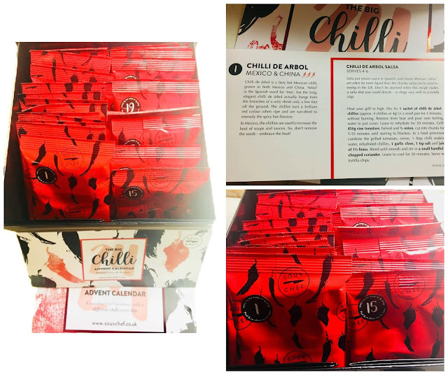 The Big Chilli Advent Calendar from Sous Chef,