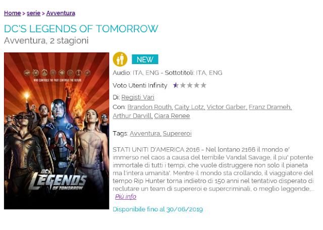 Cattura - DC Legends of Tomorrow: il ritorno in streaming