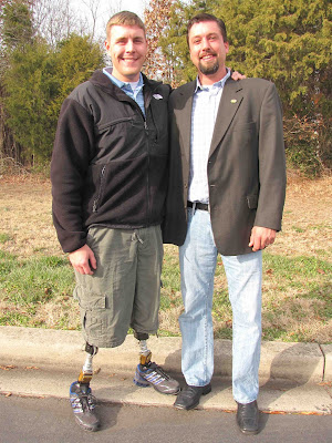 Highly motivated  Iraq war veterans Dale Beatty and John Gallina