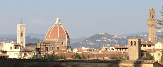 Brunelleschi's dome dominates the Florence skyline