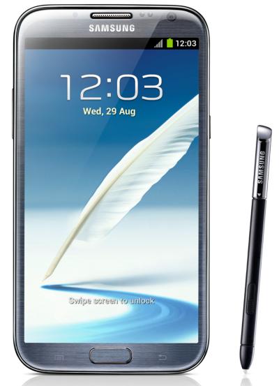 Spesifikasi dan Harga Samsung Galaxy Note II GT-N7100