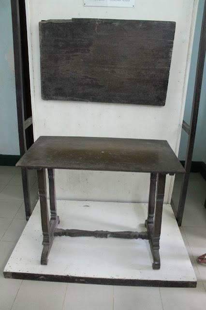 Rizal's desk and blackboard