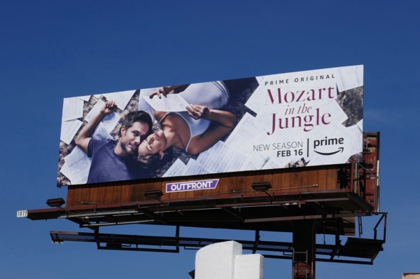 Mozart in the Jungle season 4 billboard