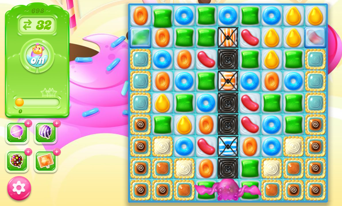 Candy Crush Jelly Saga level 698