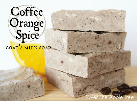Coffee and Orange Spice Melt And Pour Soap
