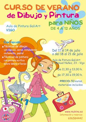 Curso de Verano en Vigo - AULA DE PINTURA GALIART