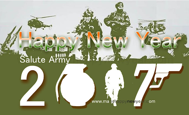 2017 New Year to Indian Army