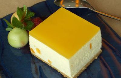 Resep Kue MANGO CHEESE CAKE