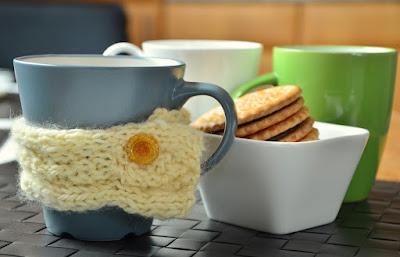 Copritazza lana, articoli  per il tè