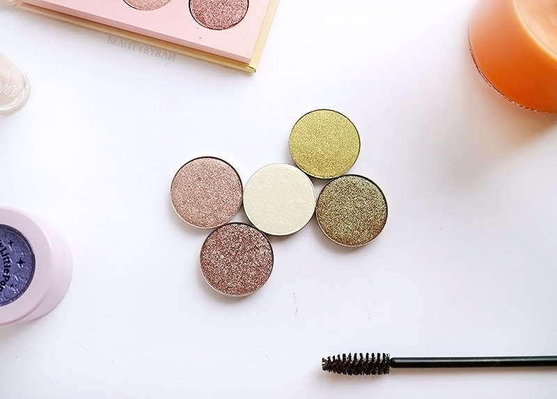Review and Swatches of Colourpop The Yin to My Yang eyeshadow set