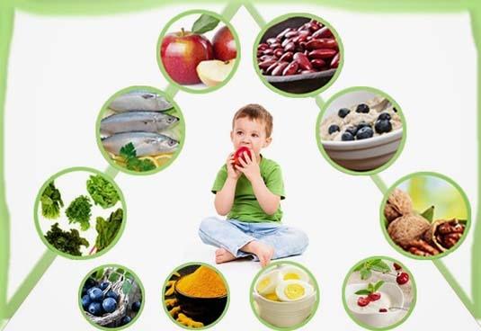 Makanan untuk kecerdasan otak anak