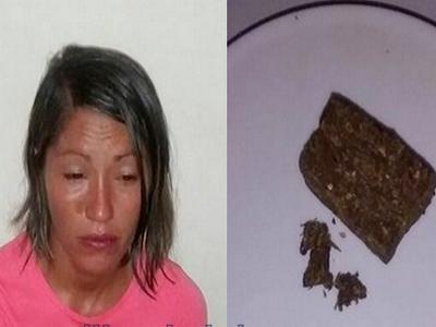767ae5e47 BLOG DO CASSIMIRO  Mulher é presa com droga no sutiã quando iria ...