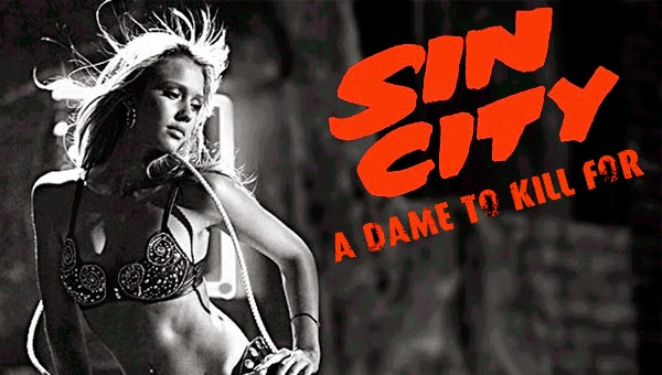 Jessica Alba Sin City: A dame to kill for