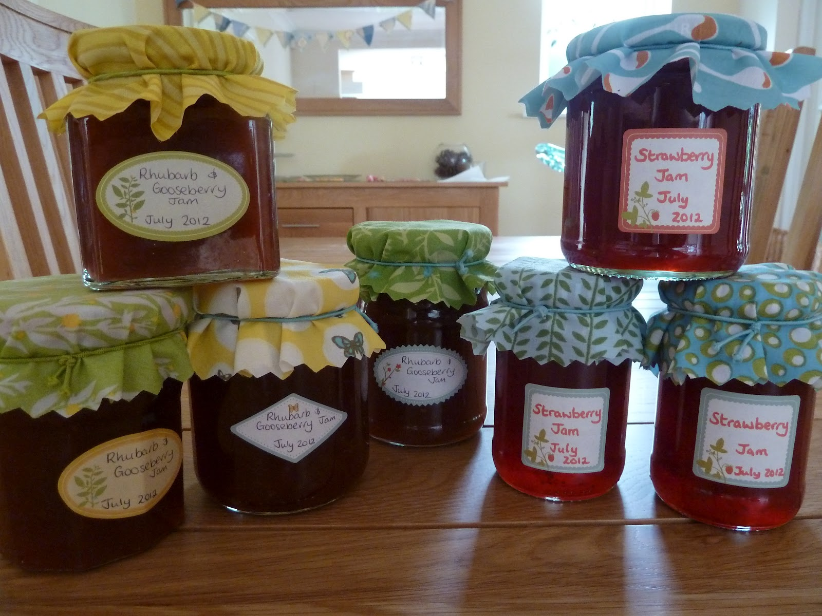 Rhubarb And Gooseberry Jam Recipe Garden Tea Cakes And Me