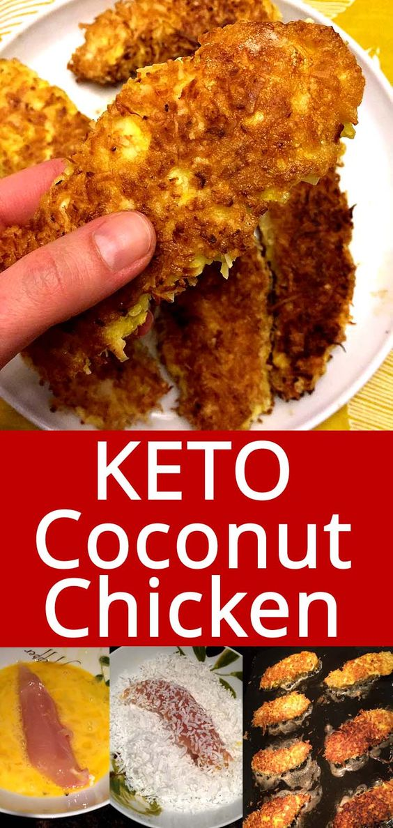 Coconut Chicken Tenders (Keto, Gluten-Free)