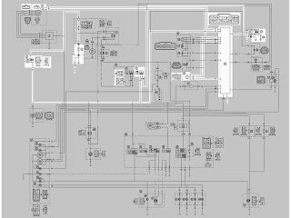 skema kelistrikan motor: wiring harness yamaha vixion