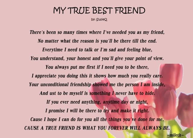 best friend poems that make you cry and laugh wallpapers of poetry 29553 | mytruebestfriend