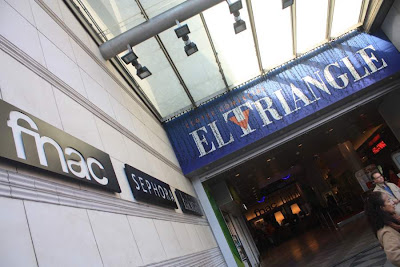 El Triangle shopping mall in Barcelona