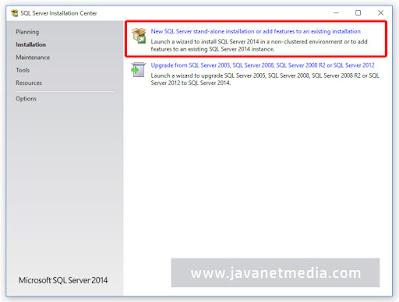Cara Install Database SQL Server
