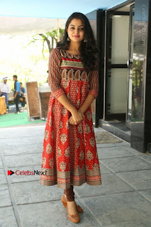 Telugu Actress Nikhila Vimal Latest Stills in Anarkali Dress  0185.JPG