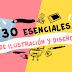 30 esenciales para diseño e ilustración