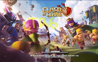 mengatasi loading lemot clash of clans