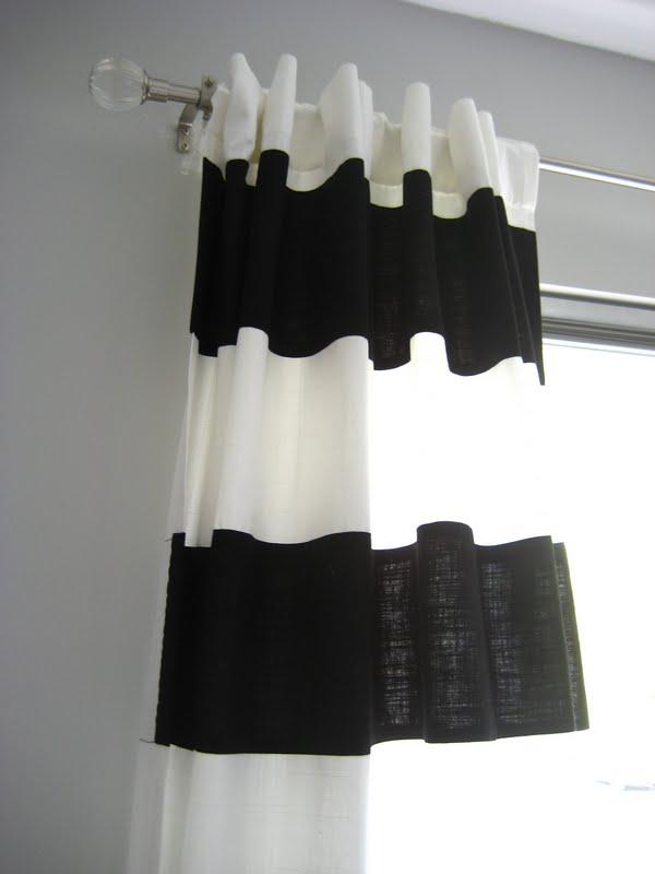 Ikea Panel Curtain Insitu Google Search: How-to Make Striped Drapes Using Ikea Drapery Panels