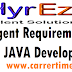 Urgent Requirement for Java Developer, Walk in Drive