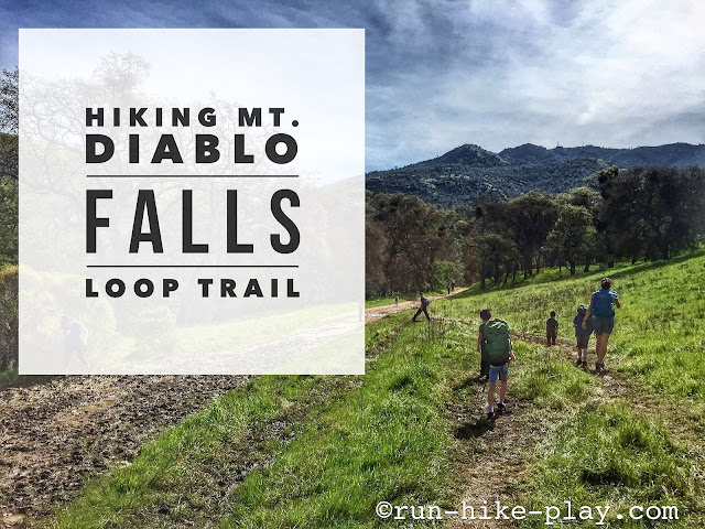 Hiking Mt. Diablo Falls Trail Loop with the fam