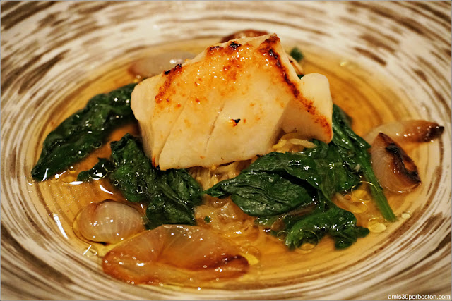 Menú Dine Out Pabu Boston: Miso-Cured Black Cod