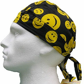 Smiley Face bandana