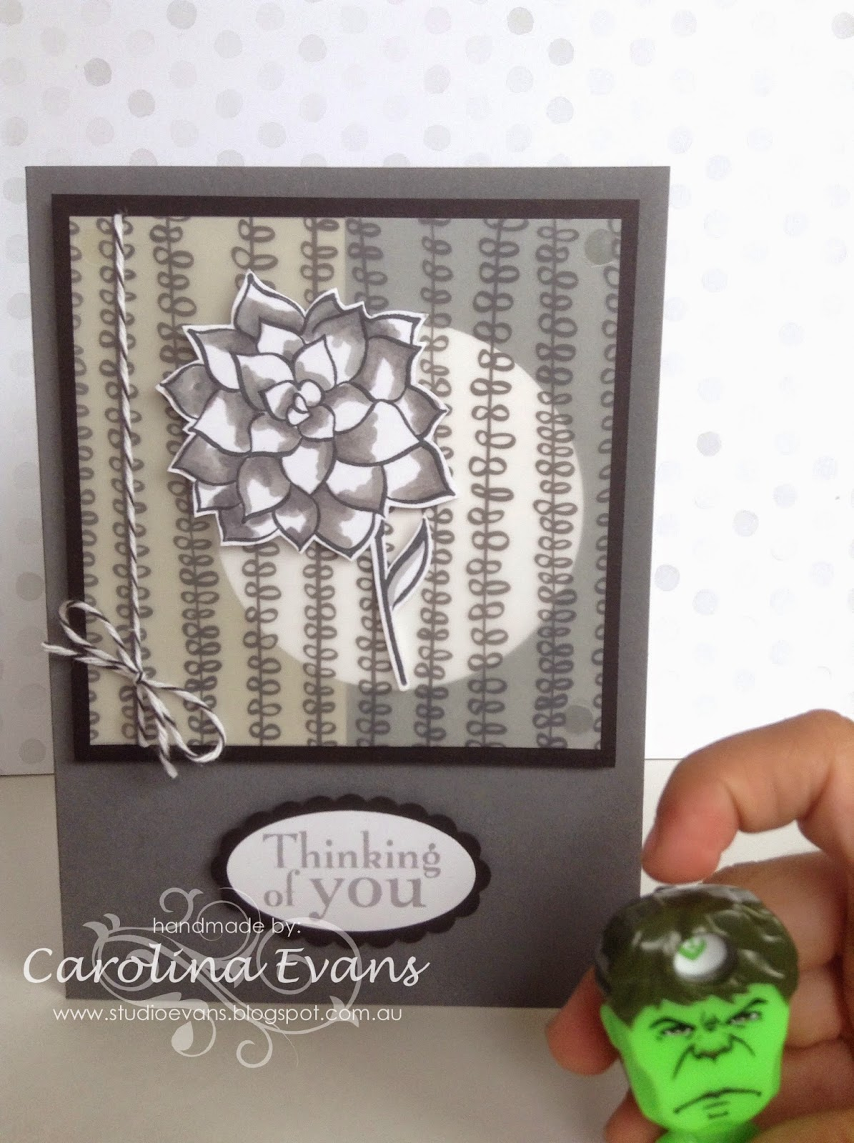 Nature's Perfection and Sheer Perfection Vellum card made with Stampin' Up! products 2