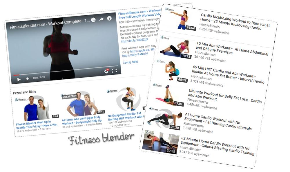 treningi fitness blender