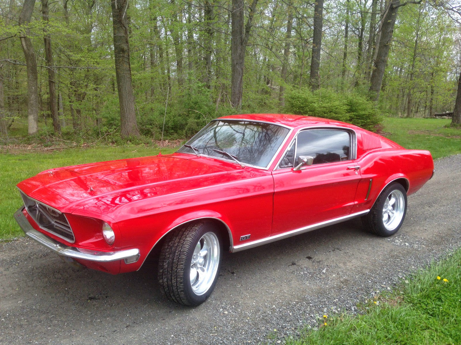 1968 Ford Mustang Fastback GT S Code