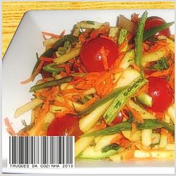 Salada refrescante para verão