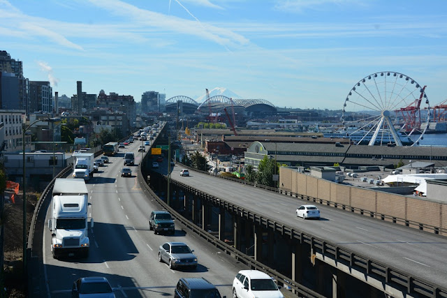Seattle Waterfront highway