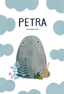 Petra is optimistic. Though she introduces herself as a mighty mountain, we soon discover that she is slightly smaller than she claims. After a series of mishaps that cause her to re-formulate her identity, she finally settles in a place. Continually cheerful, Petra always decides to roll with what life brings her way. Good, simple illustrations and a cute story. #childrenslit #books #picturebook #Petra #NetGalley