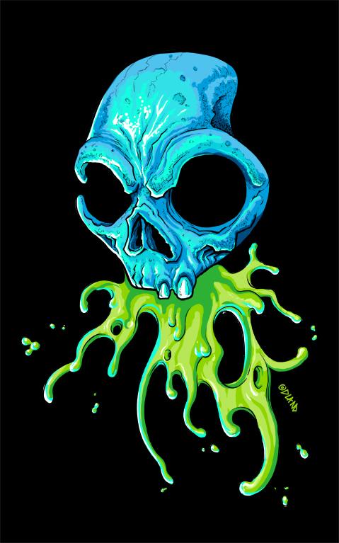 Logo Skullcandy Drawing