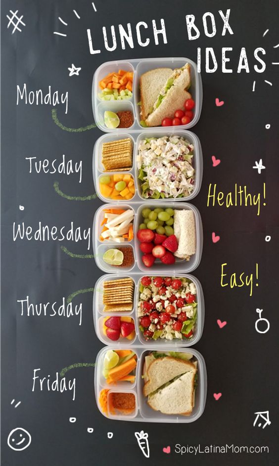 5 LUNCH BOX IDEAS – BACK TO SCHOOL