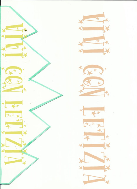 Cartamodello per fare la corona in gomma crepla, cartone o cartoncino
