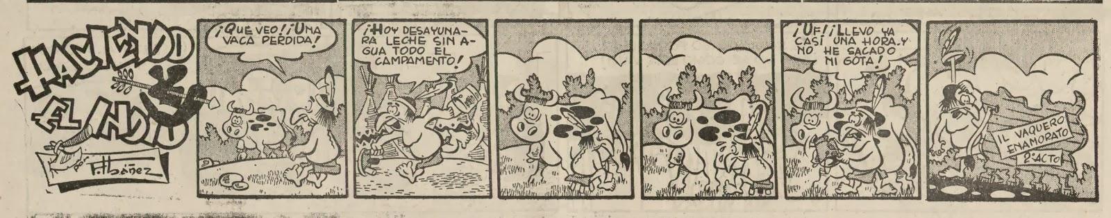 Haciendo el Indio, A Todo Color 18 de marzo de 1954