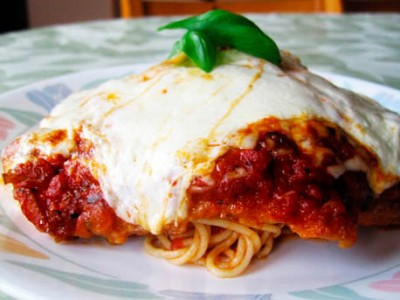 Tierney Tavern Chicken Parmesan Over Traditional Chunky