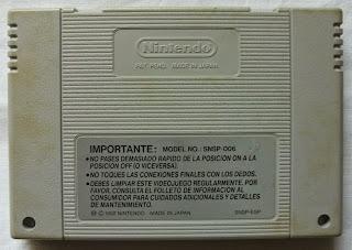 The Legend Of Zelda - A Link To The Past - Cartucho detrás