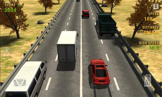 screenshoot traffic racer