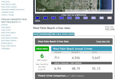 Lake worth city limits notes news reviews unique to city according to neighborhoodscout west palm beach is in the top 10 percent of most dangerous cities in america fandeluxe Image collections