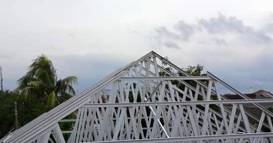 Harga Bongkar Pasang Bangunan Atap Baja Ringan Plafon