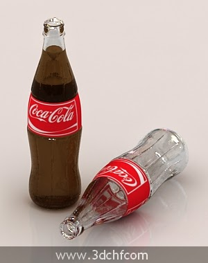 3d cola bottle